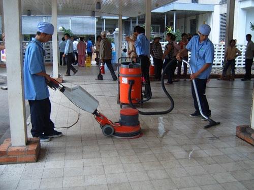 Dịch vụ vệ sinh bệnh viện