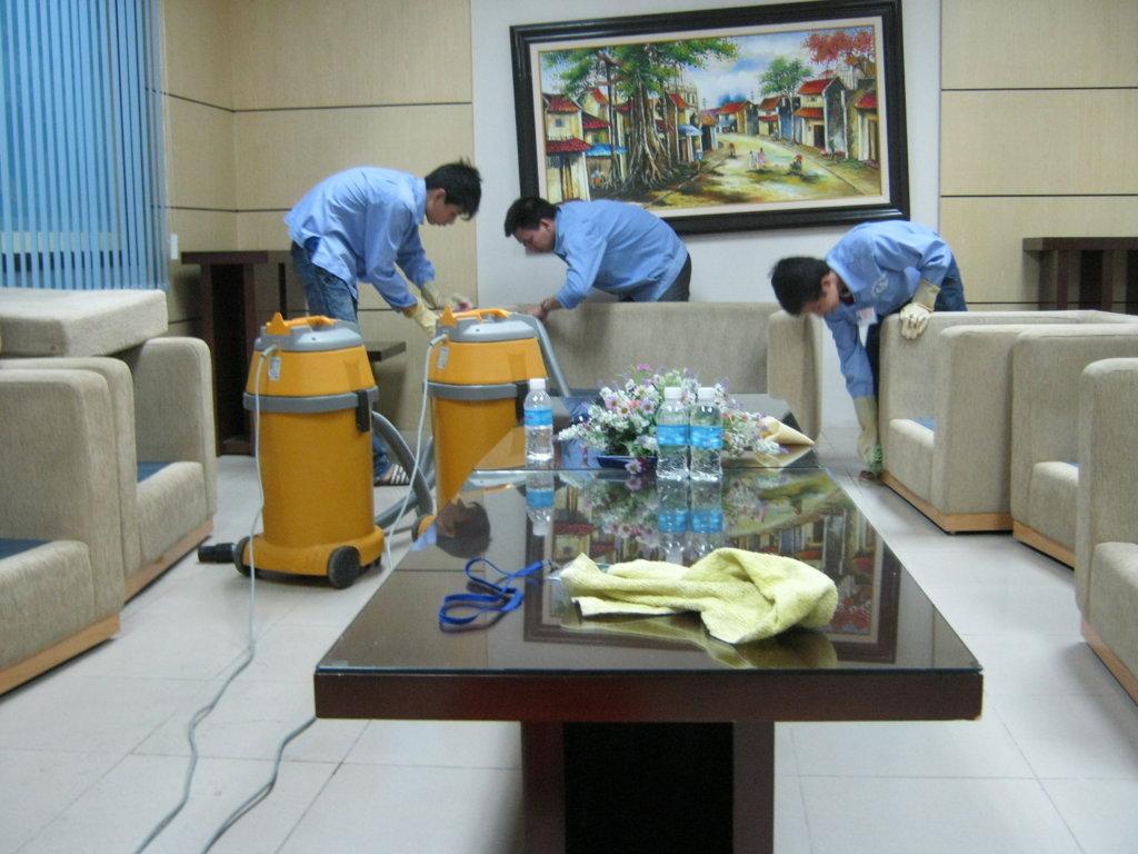 Dịch vụ vệ sinh nhà ở trọn gói
