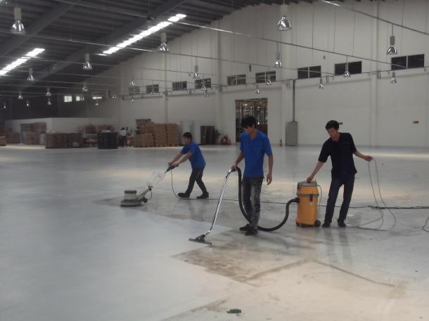 Dịch vụ vệ sinh nhà máy, khu công nghiệp